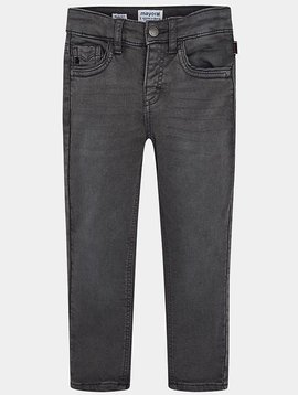 Mayoral Boy Slim Dark Grey Denim - Mayoral Clothing