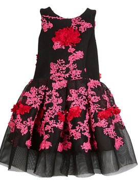Zoe Ltd Zoe Ltd -  Mesh Dress with Flowers