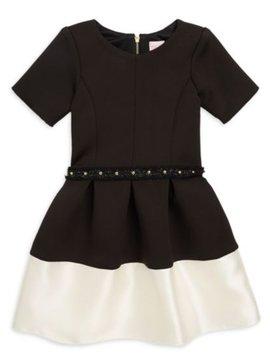 Zoe Ltd Zoe Ltd -  Color Block Belted Dress