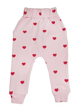 Red Hearts Sweatpant - Kip and Co - Hugo Loves Tiki