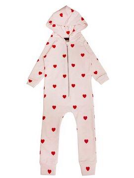 Hugo Loves Tiki Red Hearts Jumpsuit - Kip and Co - Hugo Loves Tiki