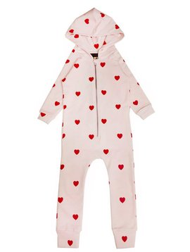 Red Hearts Jumpsuit - Kip and Co - Hugo Loves Tiki