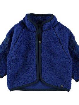 molo Urvan Fleece - Real Blue - Molo Kids