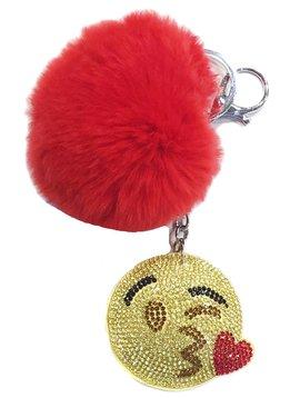 Bari Lynn Bari Lynn Kiss Emoji Keychain