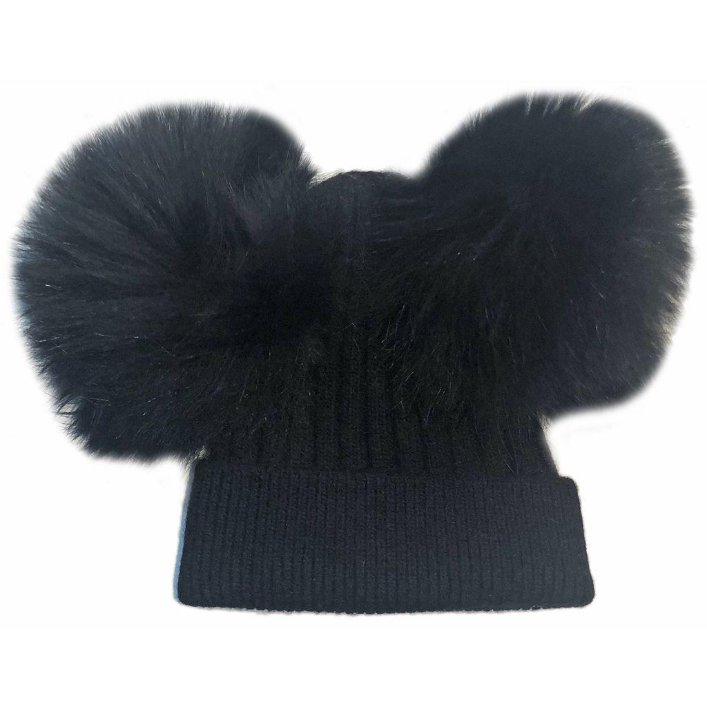 Sugar Bear Dbl Pom Pom - Black
