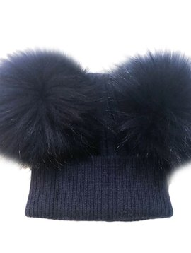 Sugar Bear Dbl Pom Pom - Navy