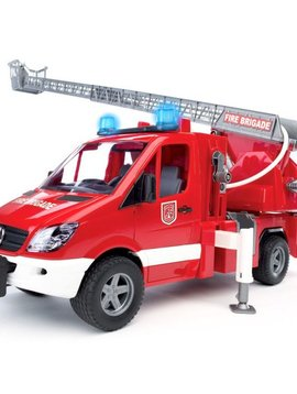 Bruder MB Sprinter Fire Engine with Ladder Water - Bruder Toys