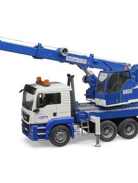Bruder MAN TGS Crane Truck Light and Sound - Bruder Toys