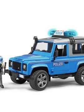 Bruder Land Rover Police w Policeman - Bruder Toys