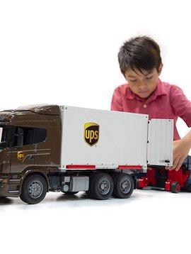 Bruder Scania UPS Truck with Forklift - Bruder Toys
