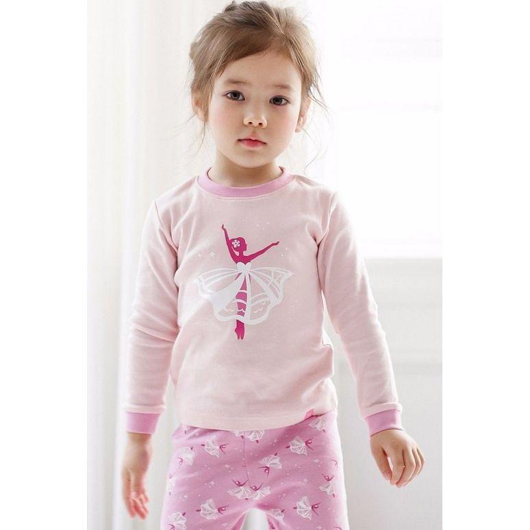 Sugar Bear Ballerina Long Sleeve Pajama - Kids PJ
