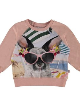molo Elsa Top - Vacation Bunny - Molo Kids