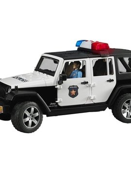 Bruder Jeep Rubicon Police Car with Policeman - Bruder Toys