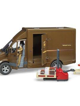 Bruder MB Sprinter UPS Truck with Pallet Jack - Bruder Toys