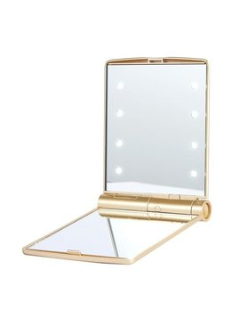 Sugar Bear Gold Light Up Mirror
