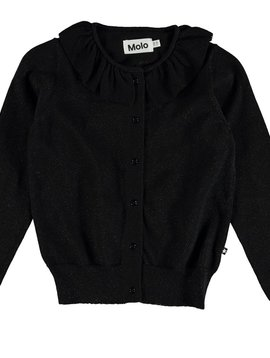 molo Gwen Cardigan - Black - Molo Kids Clothing
