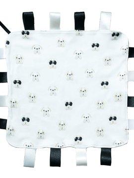 Baby Noomie Black Bulldog Security Blanket - Baby Noomie