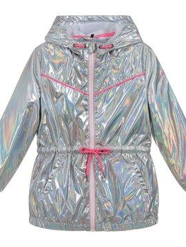 3pommes & B-Karo Silver Iridescent Jacket - 3Pommes