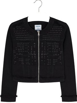 Mayoral Black Studded Jacket - Mayoral Clothing