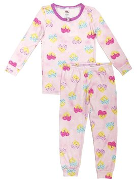 Esme Loungewear Waffle Hearts Full Length Set - Esme Loungewear