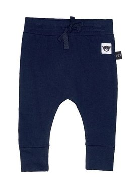 HUXBABY Navy Drop Crotch Pant - Huxbaby