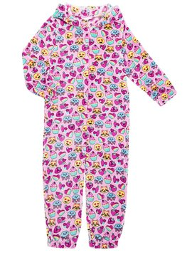 Sweet Hearts Onesie - Candy Pink