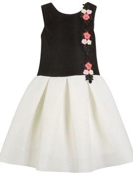 Zoe Ltd Victoria Perforated Floral Dress - Zoe Ltd