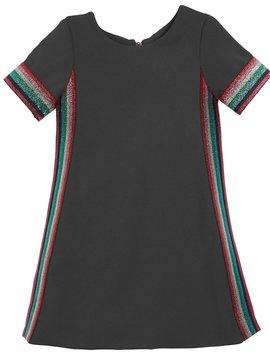 Zoe Ltd Dress with Metallic Stripes - Zoe Ltd