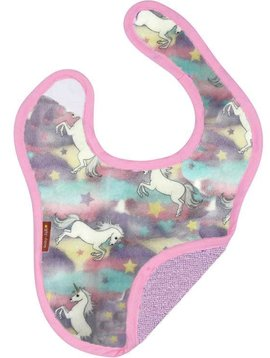 Baby JaR Reversible Bib - Pastel Unicorn - Baby JaR