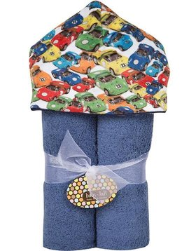Baby JaR Deluxe Hooded Towel - Transportation - Baby JaR