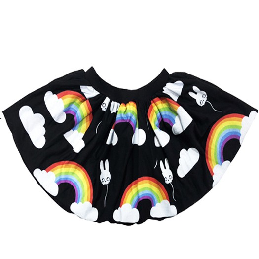Plastic Jus Rainbow Skirt - Plastic Jus
