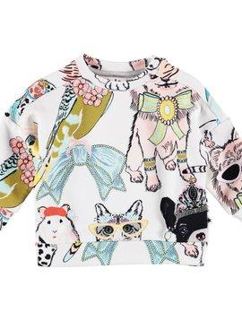 molo Dana Sweatshirt - Dressy Pets - Molo Baby Girl