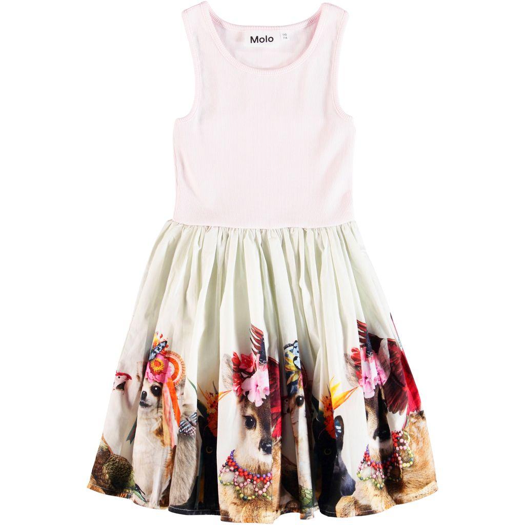 molo Cassandra Dress - Party Animals - Molo Kids