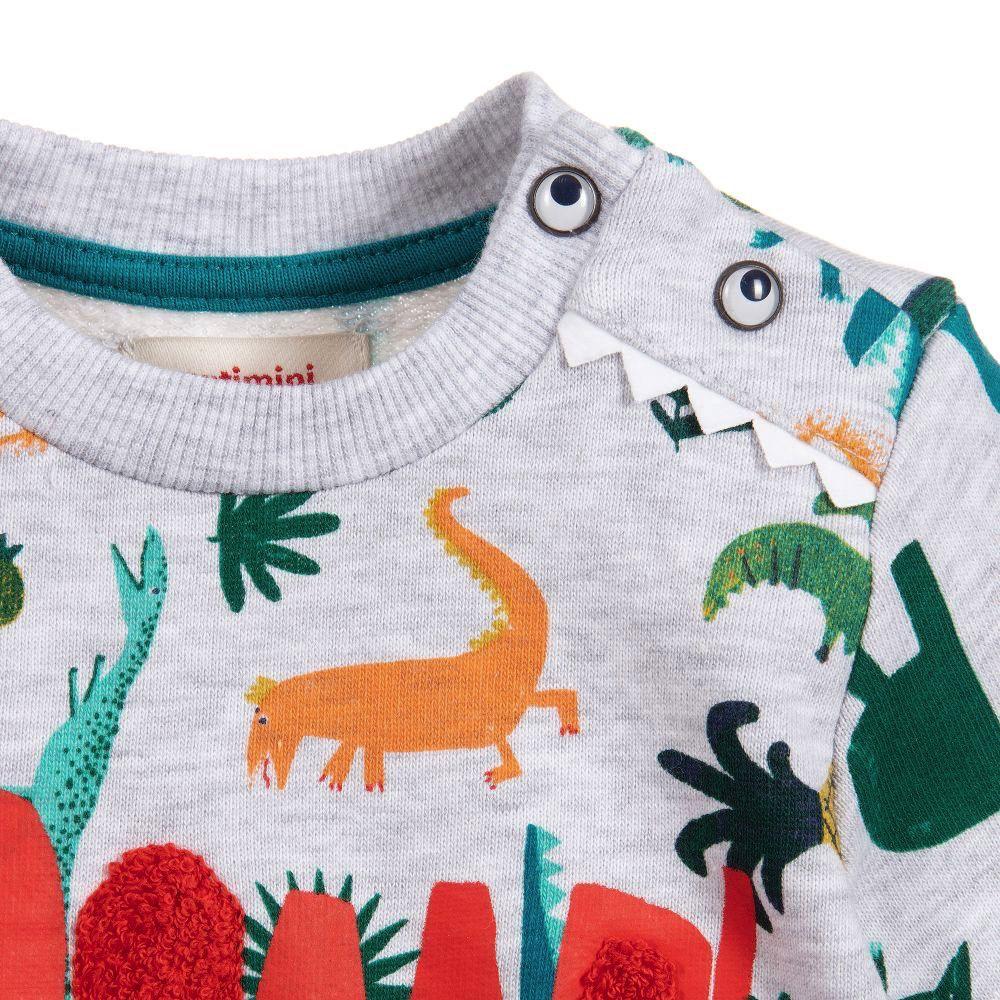 Catimini Dinosaur Roar Sweatshirt - Catimini Kids Clothing