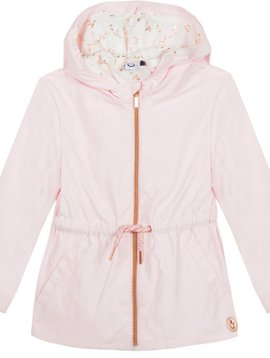 3pommes & B-Karo Rose Light-weight Spring Parka - 3Pommes Kids