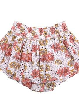 Velveteen Eloise Skort - Floral Tile - Velveteen Clothing