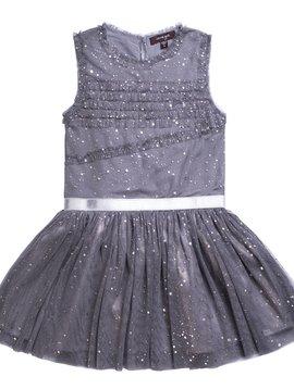 Imoga Kenia Dress - charcoal - Imoga Clothing