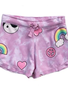 Flowers by Zoe Pink Rainbow Peace Short - Flowers By Zoe