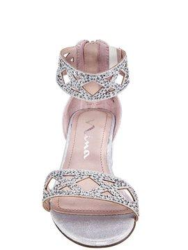 Nina Kellsey Sandal - Silver Shimmer - Nina Kids Shoes