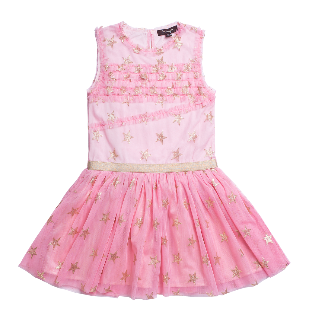 Imoga Kenia Dress - strawberry - Imoga Clothing