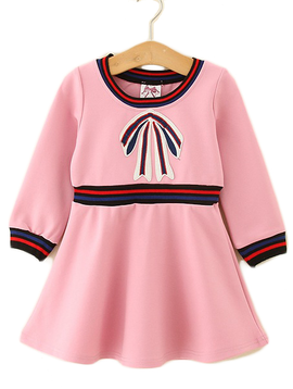 Survolte Pink Bow Dress