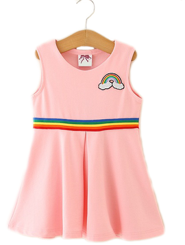 Survolte Rainbow Pink Dress
