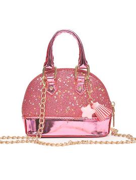 Survolte Kids Glitter Tote Handle Bag