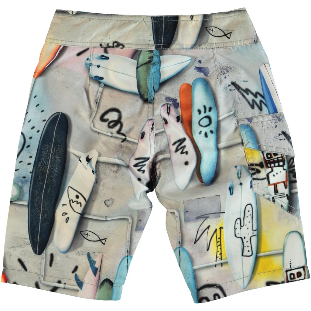 molo Nalvaro Swimsuit - Summer Walls - Molo Kids Clothing