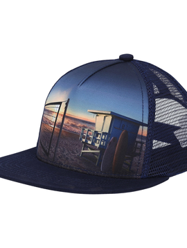 molo Big Shadow Cap - On the Beach - Molo Kids Clothing