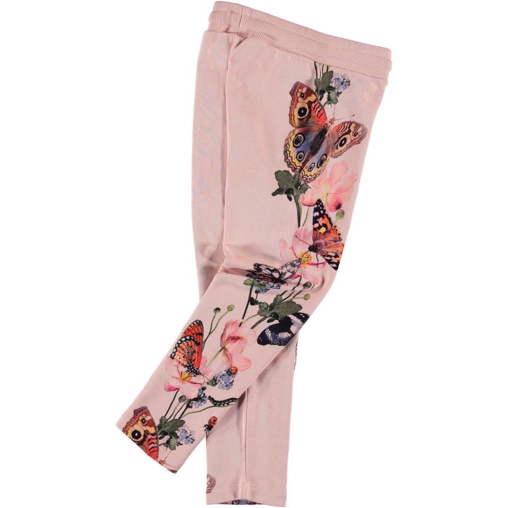 molo Antonia Pant - Butterfly Stripe - Molo Kids Clothing