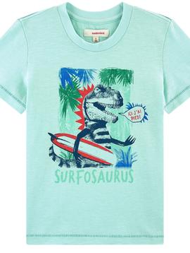 Catimini Dinosaur Surfosaurus Tee - Catimini Kids Clothing