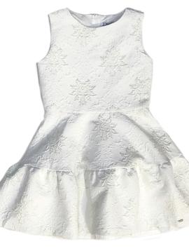 Mayoral Lurex Jacquard Dress - Mayoral Clothing