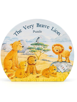 Jellycat The Very Brave Lion Puzzle - Jellycat Toys