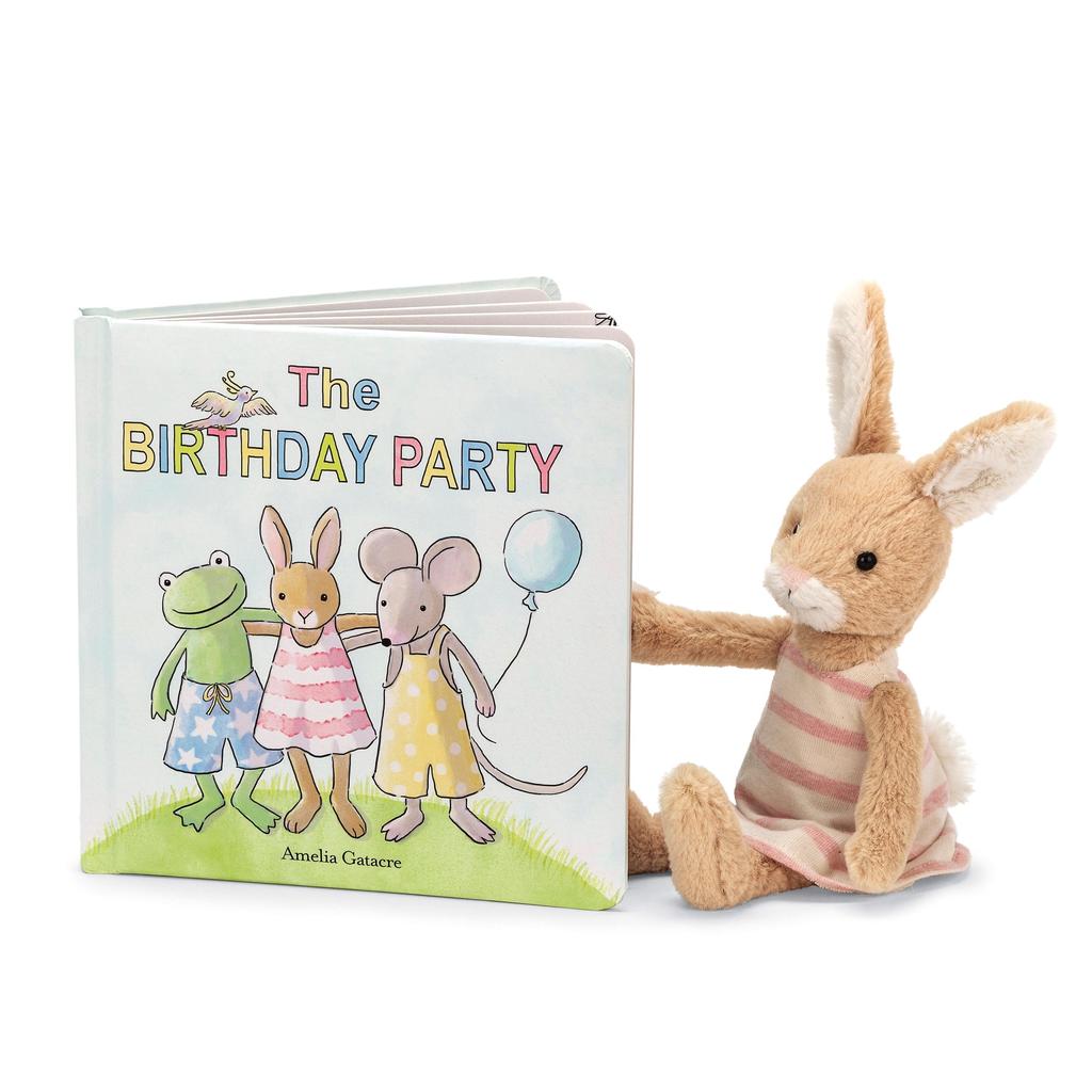 Jellycat The Birthday Party Book - Jellycat Toys